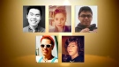 Zackariah Rathwell, Lawrence Hong, Joshua Hunter, Jordan Segura, and Kaiti Perras were murdered during a house party on April 15, 2014.