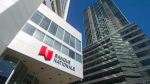Banque Nationale (National Bank) head office is shown in Montreal, Wednesday, April 15, 2015. (Graham Hughes/THE CANADIAN PRESS)