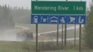 How the Alberta hamlet is coping following surge of Fort McMurray evacuees.