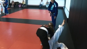 Amy Harris, judo coach