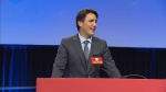 Trudeau addresses Unifor convention in Ottawa