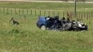 Fatal crash northeast of Calgary