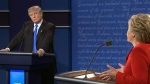 Potential voters had the opportunity to listen, analyze and watch every move the candidates made during Monday night's televised debate.