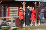 Prince William and his wife Kate, the Duke and Duchess of Cambridge leave after touring the MacBride Museum of Yukon History in Whitehorse, Yukon, Wednesday, Sept. 28, 2016. (THE CANADIAN PRESS/Jonathan Hayward)