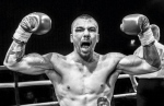 Scottish boxer Mike Towell is shown in this image from his Facebook page.