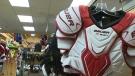 hockey-pads