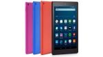 Amazon Fire HD 8 tablets. (Amazon via AP)