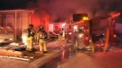 Midfield Mobile Home Park fire