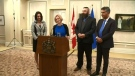 Premier Notley and new cabinet
